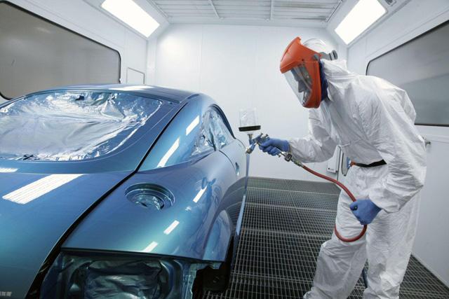 Чем развести автомобильную краску металлик